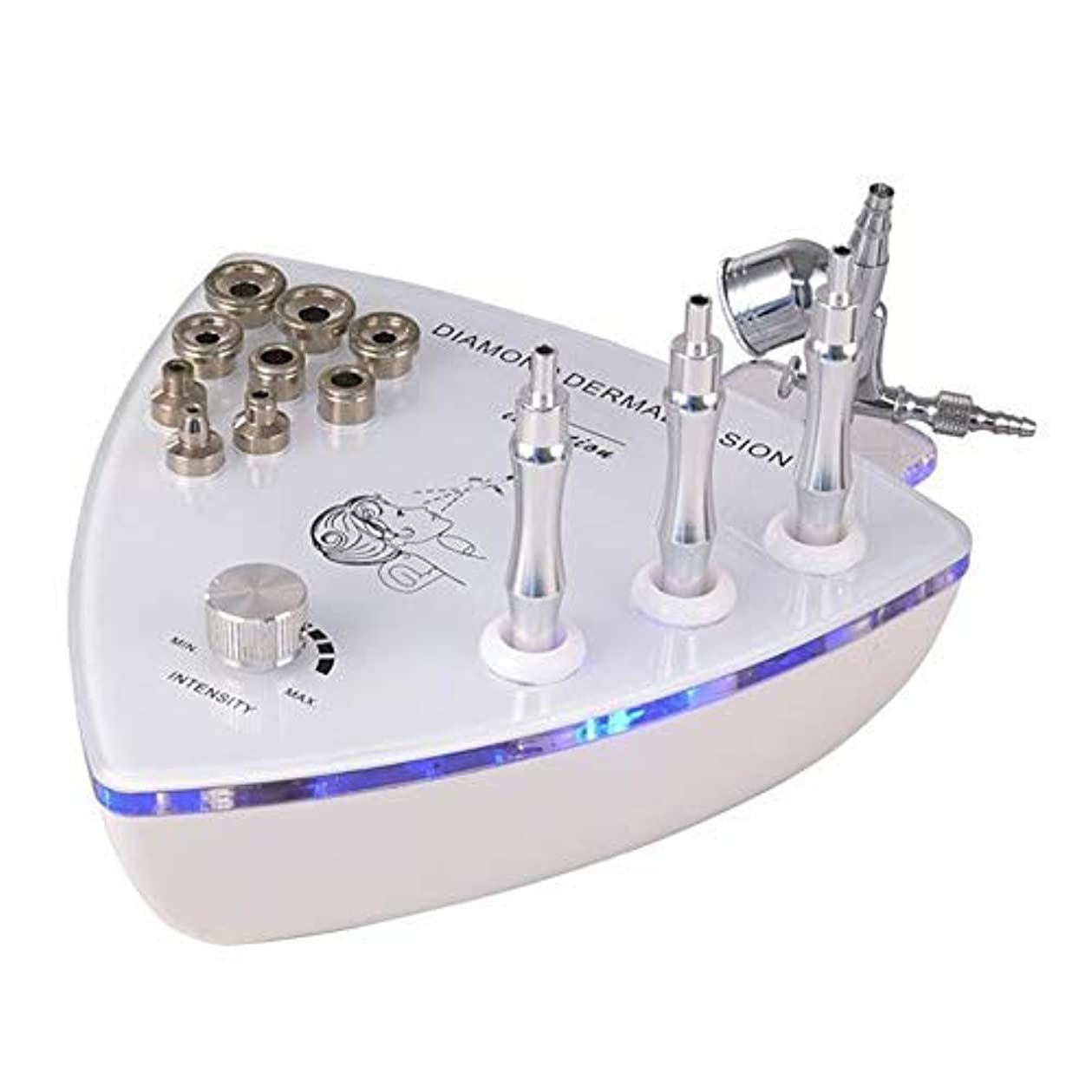 症候群地上でギャザー美容機器、フェイシャルスキンケア機器、マイクロダーマブレーションマシン、マイクロダーマブレーションおむつダイヤモンドマイクロ彫刻美容機器、角質除去、角質除去、肌の若返り