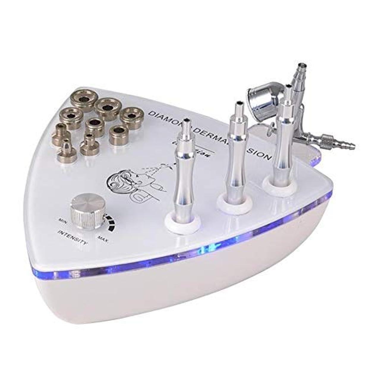 分析する転送過剰美容機器、フェイシャルスキンケア機器、マイクロダーマブレーションマシン、マイクロダーマブレーションおむつダイヤモンドマイクロ彫刻美容機器、角質除去、角質除去、肌の若返り