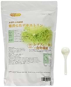 国産難消化性デキストリン 1.5kg 水溶性食物繊維 1500g【計量スプーン付】スプーン1杯2.5gで、約レタス1個分の食物繊維