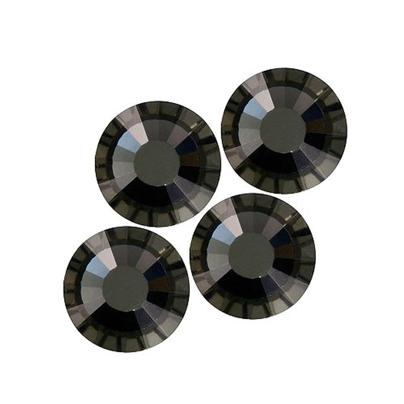 白菜軽食ピアバイナル DIAMOND RHINESTONE ブラックダイアモンド SS16 720粒 ST-SS16-BKD-5G