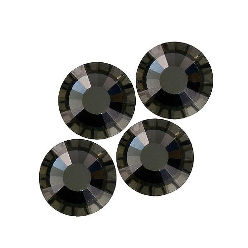 週末振りかける塊バイナル DIAMOND RHINESTONE ブラックダイアモンド SS6 720粒 ST-SS6-BKD-10G