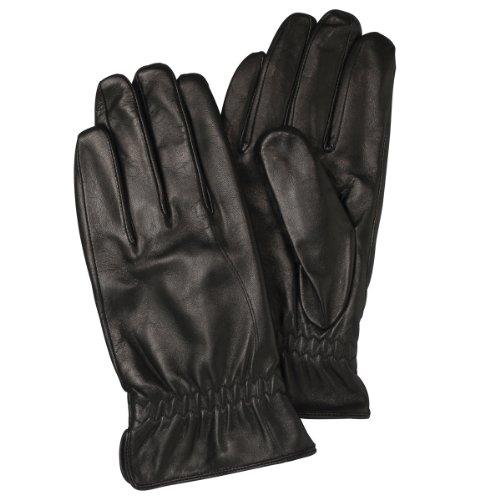 (フランコ コレツィオーニ)Franco Collezioni FC メンズ羊革手袋 SMA03 40691 40691  ブラック FREE