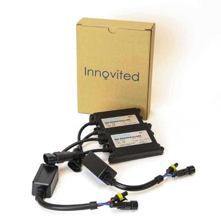 そよ風問題視線Innovited 2pcs 55w Ac HID Slim Digital Replacement Ballast Universal Fit [並行輸入品]