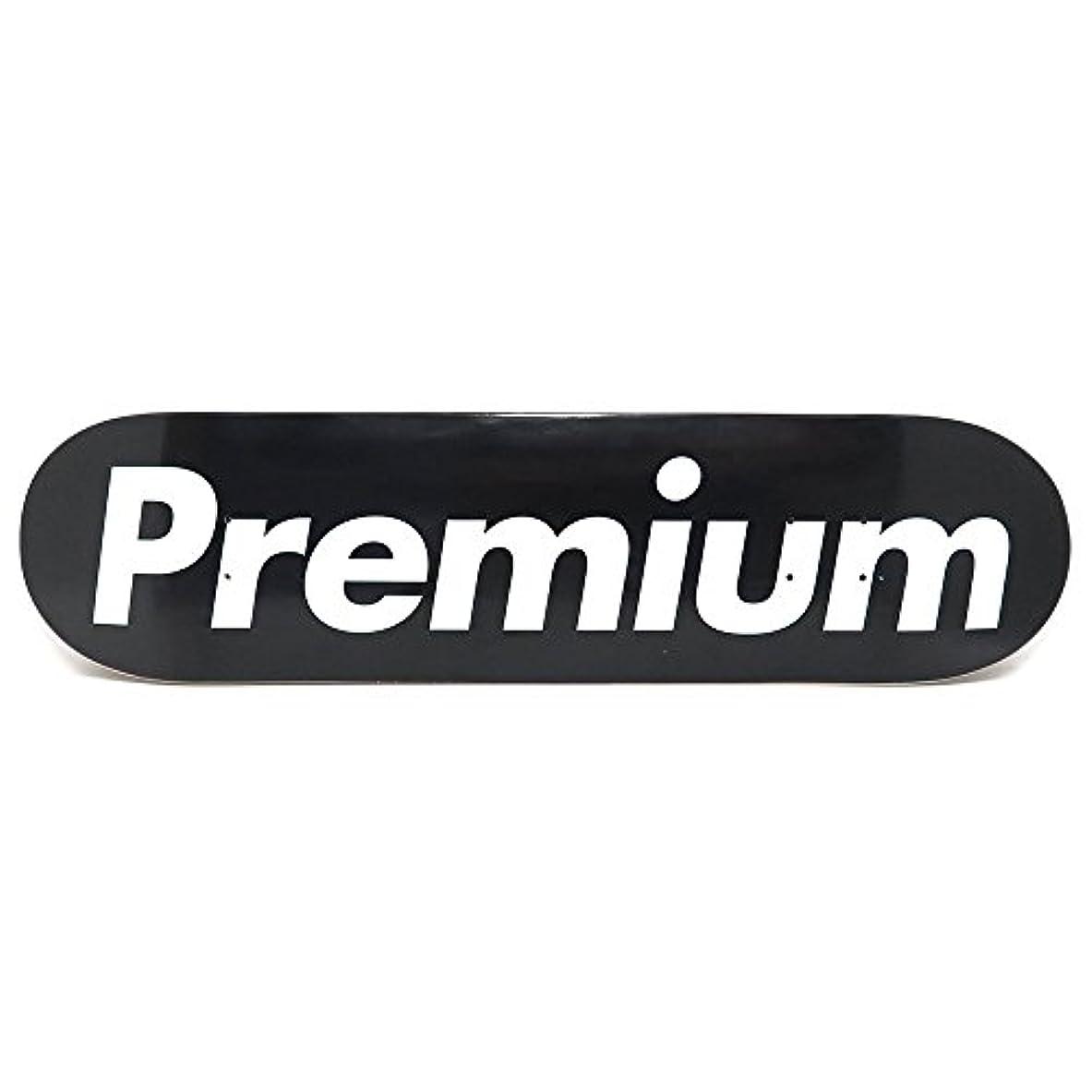 ストッキング消毒する腐食するPREMIUM DECK プレミアム デッキ TEAM SUPREMIUM BLACK 7.875 スケートボード スケボー SKATEBOARD