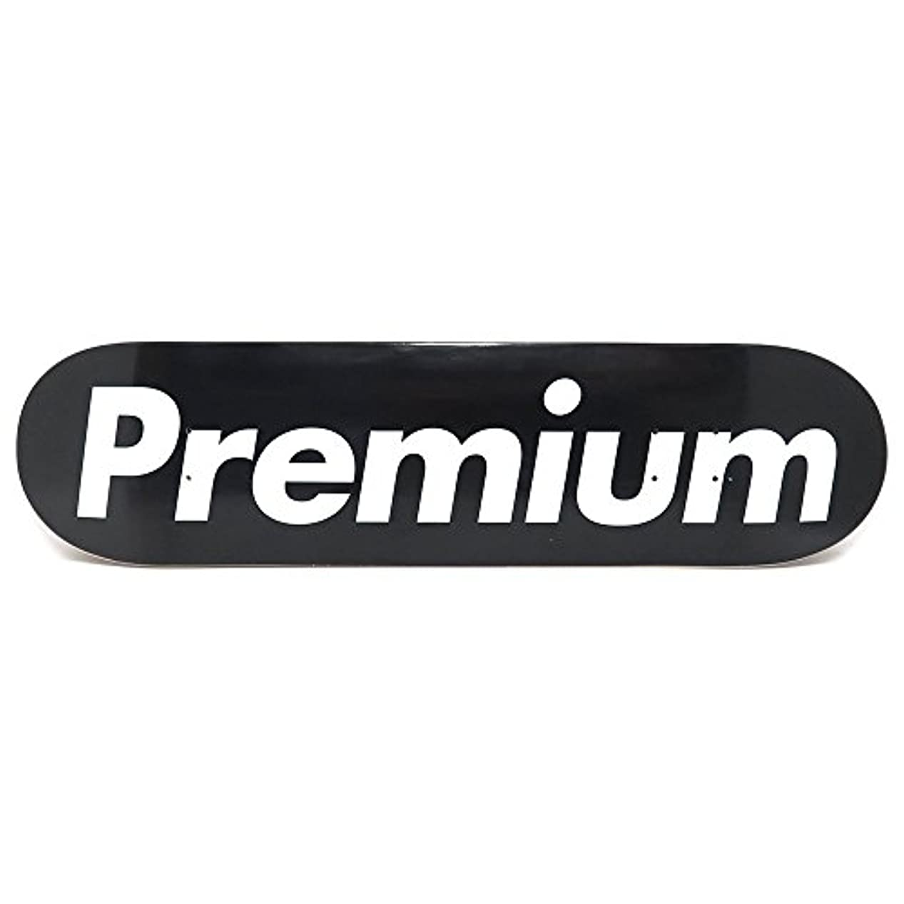 平手打ち賞賛ホステスPREMIUM DECK プレミアム デッキ TEAM SUPREMIUM BLACK 7.875 スケートボード スケボー SKATEBOARD