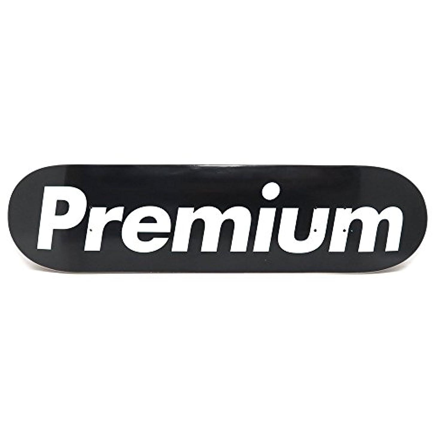 エイズ類人猿劇場PREMIUM DECK プレミアム デッキ TEAM SUPREMIUM BLACK 7.75 スケートボード スケボー SKATEBOARD