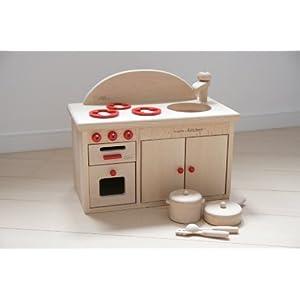木製おもちゃのだいわ ミドル キッチンセット