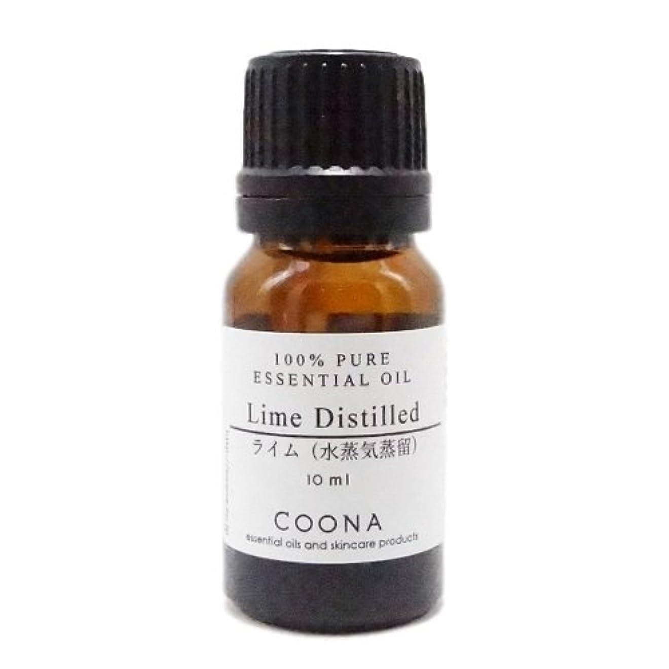最初意図的トチの実の木ライム 水蒸気蒸留 10 ml (COONA エッセンシャルオイル アロマオイル 100%天然植物精油)