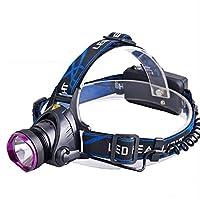 軽量の防水強いヘッドライトの固定焦点の照明懐中電燈T6 / XPE LEDの強いヘッドトーチ