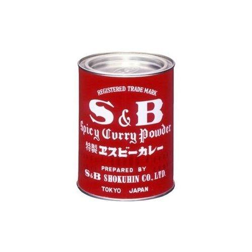 カレー粉 赤缶 400g /S&B(12缶)