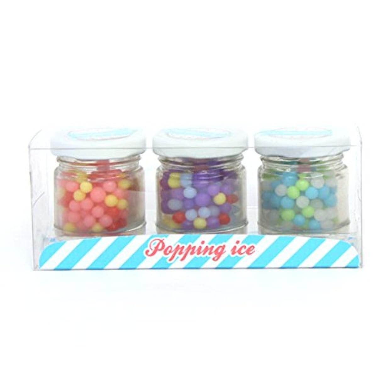 帽子ボス観察sweets candle(スイーツキャンドル) 【OUTLET】【アウトレット】つぶつぶアイス キャンドル 145×55×58 (outa3050000)