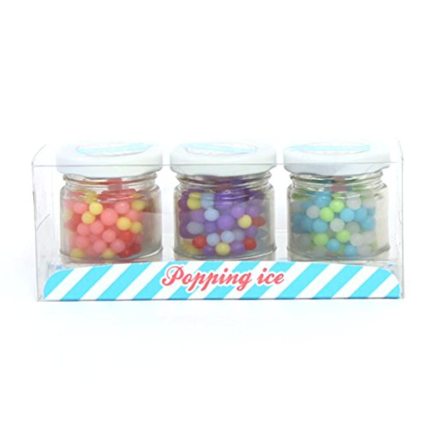 空白基本的な排気sweets candle(スイーツキャンドル) 【OUTLET】【アウトレット】つぶつぶアイス キャンドル 145×55×58 (outa3050000)