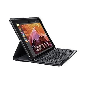 Logicool ロジクール iK1052 SLIM FOLIO Bluetooth キーボード一体型ケース iPad 第5世代用