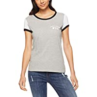 Calvin Klein Women's Colourblock Ringer Tee