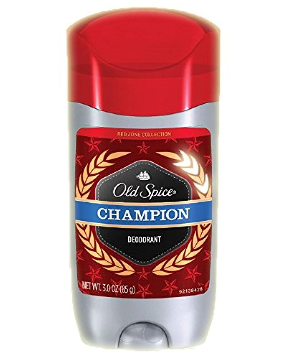 懐心理的医学Old Spice/オールドスパイス Red Zone レッドゾーン Deodorant 海外デオドラント Solid - 85g (国内出荷配送、平行輸入品) (チャンピオン)