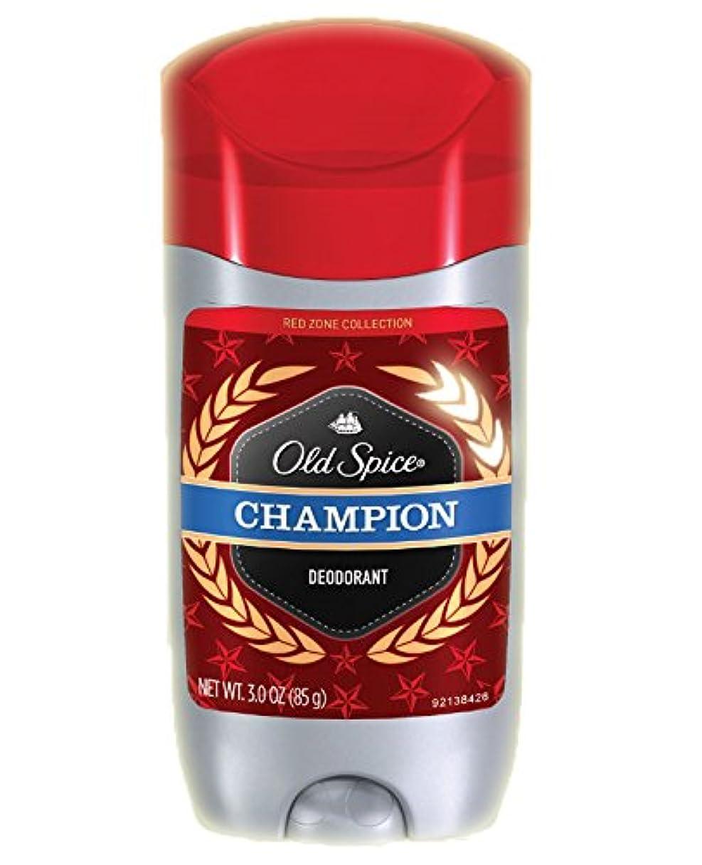 かもしれない拘束するバスOld Spice/オールドスパイス Red Zone レッドゾーン Deodorant 海外デオドラント Solid - 85g (国内出荷配送、平行輸入品) (チャンピオン)