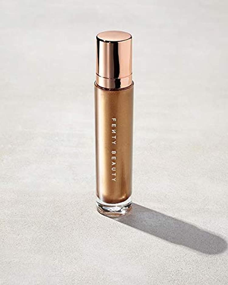 肥料ブリッジみがきますFENTY BEAUTY Body Lava Body Luminizer Trophy Wife - lustrous hyper-metallic gold