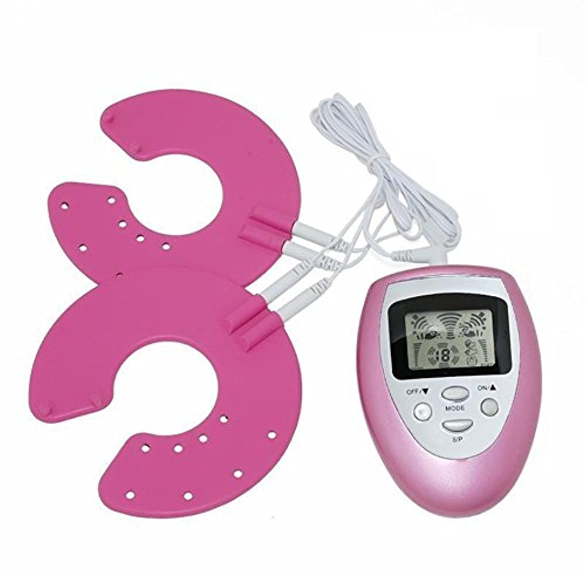 レンダーチャンピオンシップ日付Rabugoo 電気乳母マッサージ器セルライトマッサージパッドツール乳房拡大成長刺激装置
