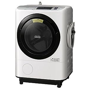 日立 洗濯乾燥機 12kg ホワイト BD-NX120AL W