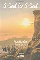A Soul for a Soul: Soulmates never let go ǀ Weekly Planner Organizer Diary Agenda: Week to View with Calendar, 6x9 in (15.2x22 cm) Marvel Avengers Soul Stone theme. Perfect birthday or Christmas gift for husband / boyfriend / wife / girlfriend / lover.