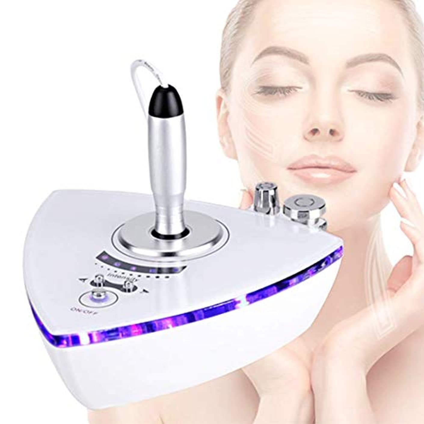 服露出度の高いアミューズRFの無線周波数の美顔術機械、反老化のスキンケアをきつく締める皮の若返りのしわ除去の皮のための家の使用携帯用美顔術機械
