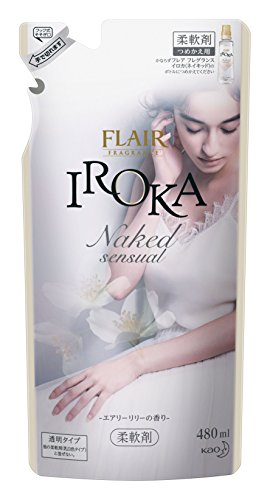 フレアフレグランス イロカ Naked Sensual エアリーリリーの香り 詰替 480ml