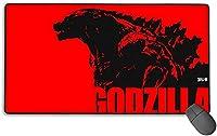 マウスパッド 大型 ゲーミング Godzilla ゴジラ2 マウスパッド 3D柄プリント ゲーム パソコン 疲労低減 大きめ 防水 滑り止め 水で洗えるマウスパッド,ホワイト,One Size