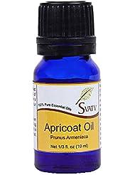 SVATV Apricot (Prunus Armeniaca) Essential Oil 10 mL (1/3 oz) Therapeutic Grade, Aromatherapy Essential Oil
