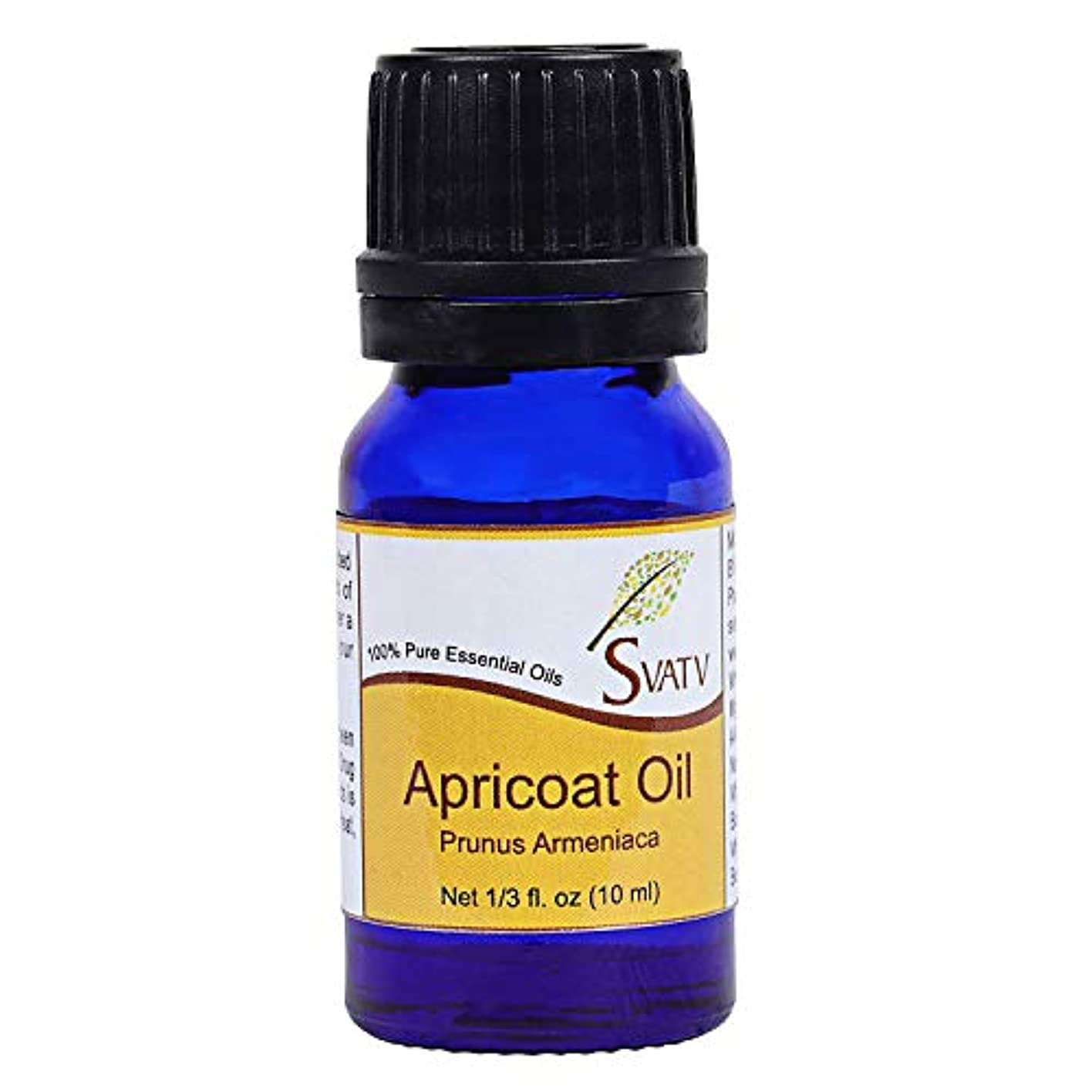 デンマークカウンタ見分けるSVATV Apricot (Prunus Armeniaca) Essential Oil 10 mL (1/3 oz) Therapeutic Grade, Aromatherapy Essential Oil