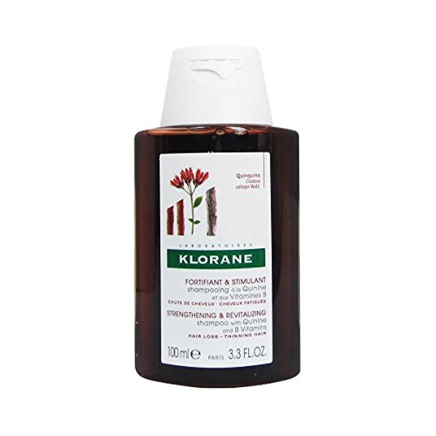 メニューショートカットマニアKlorane Quinine Fortifying Shampoo 100ml [並行輸入品]