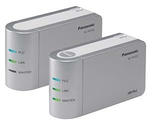 Panasonic PLCアダプター スタートパック BL-PA100KT