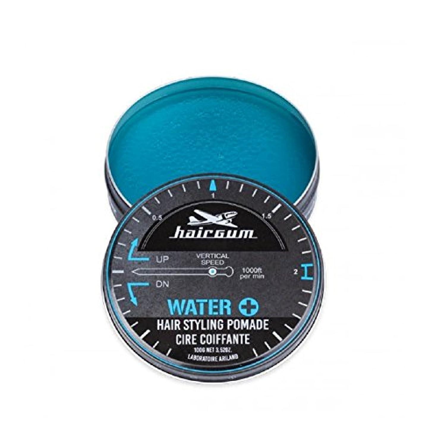 終わらせる起きているヘルパーhairgum(ヘアガム) Water+ Pomade 100g ヘアガム ウォータープラス 水性 ポマード