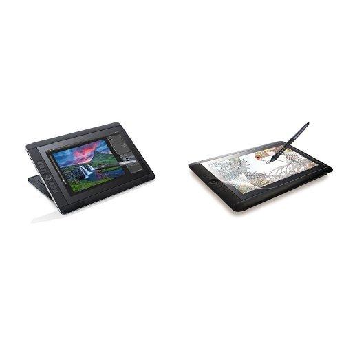 ワコム Windows搭載液晶ペンタブレット Cintiq Companion2 64GB SSD DTH-W1310T/K0 + エレコム 液晶保護フィルム Wacom Cintiq13 HD/Cintiq13 HD Touch/Cintiq Companion2用 防指紋反射防止 13.3インチ TB-WC13FLFA