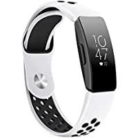 Small & Large Band Replacement Compatible for Fitbit Inspire/Inspire HR Fitbit Bands, TPU