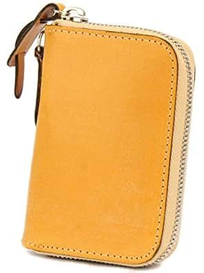[コルボ] CORBO. カード入れ付き コインケース 小銭入れ ラウンドファスナー 1LD-0232 face Bridle Leather フェイス ブライドルレザー シリーズ ブラウン CO-1LD-0232-91