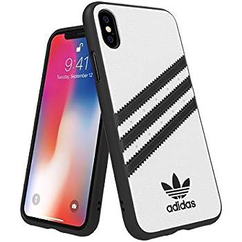 42de99178 Adidas 31600 OR SAMBA Moulded Case PU FW18 white black 〔iPhone XS X用〕
