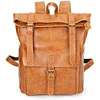 YOUNKING Genuine leather man's bag Backpack Women's travel bag Top cowhide man's bag