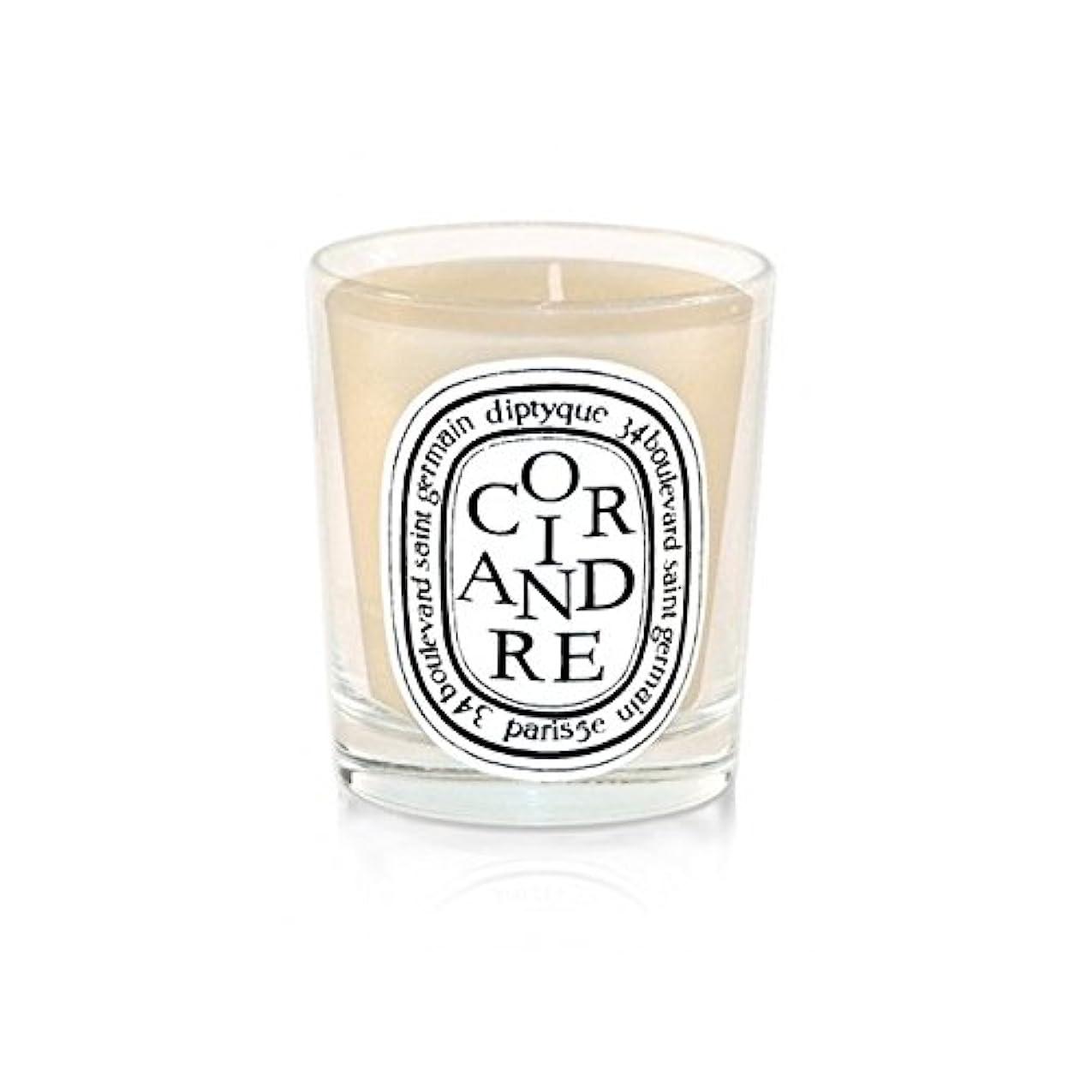 無強要火炎Diptyque Candle Coriandre / Coriander 190g (Pack of 6) - DiptyqueキャンドルCoriandre /コリアンダー190グラム (x6) [並行輸入品]