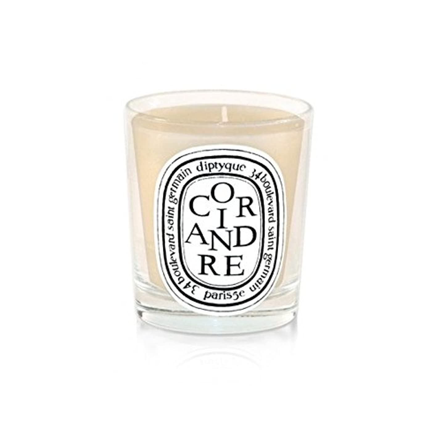 飢材料邪魔するDiptyqueキャンドルCoriandre /コリアンダー190グラム - Diptyque Candle Coriandre / Coriander 190g (Diptyque) [並行輸入品]