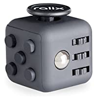 Fidget Cube 不安やストレス緩和用玩具 集中力向上/リラクゼーション/気晴らし/気分向上に うつ病/不安/恐怖の対策 自閉症/ADD/ADHD/PTSDの方へのギフトに最適 FS-OF-9935