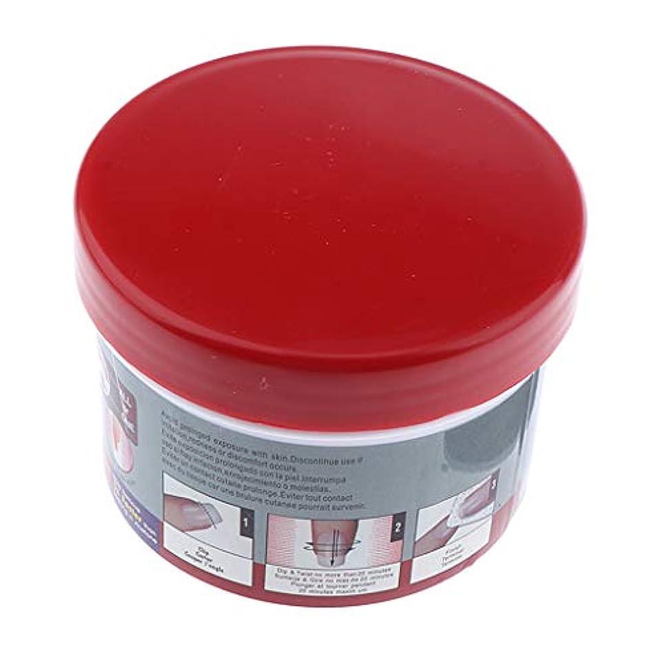 クリップ蝶褐色ウルルB Baosity マニキュア 除去コンテナツール ネイルアート 耐久性 UVゲル