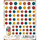 写ネイル ネイルシール Sha-Nailmore Boa Dots(Brown) MBOD-002
