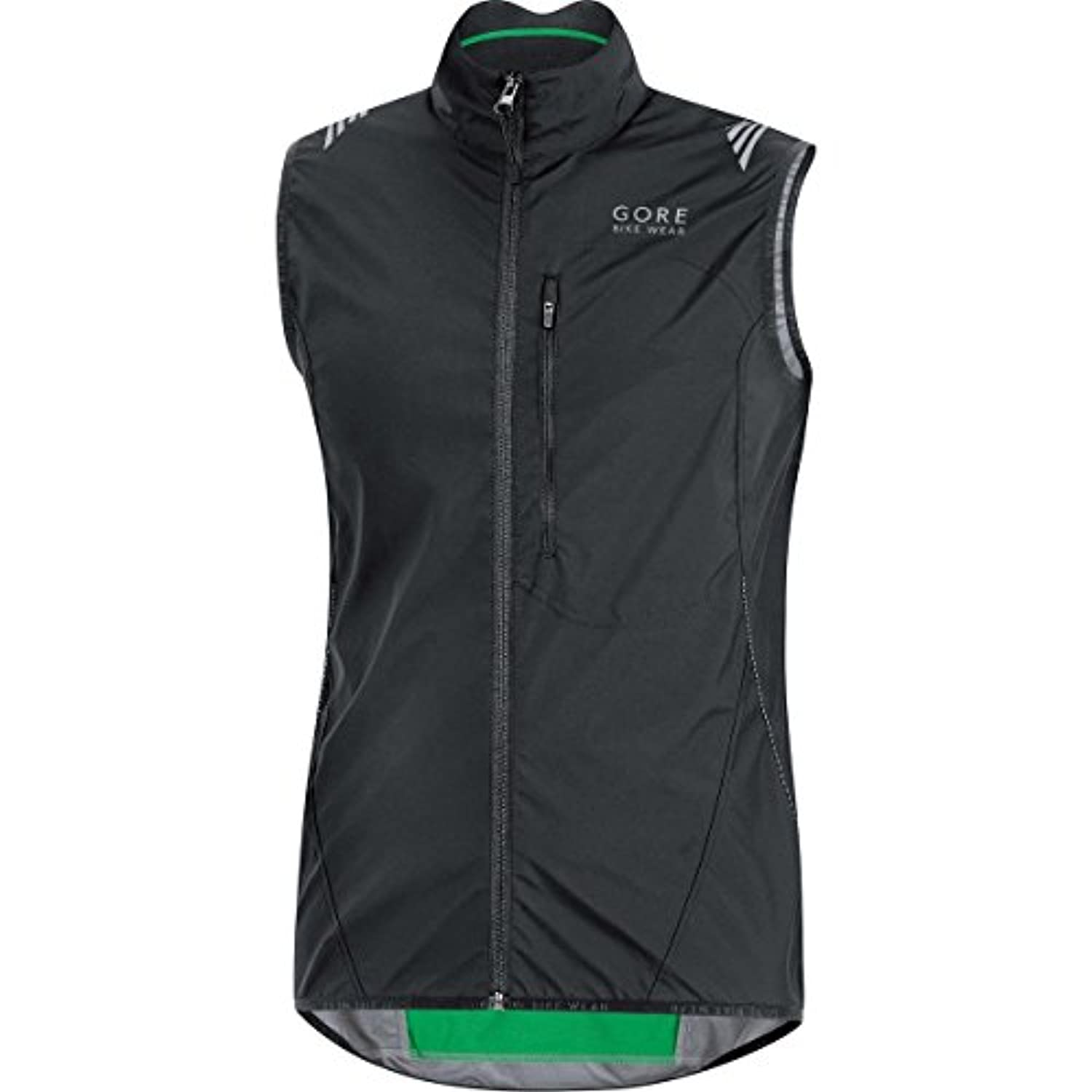 GORE BIKE WEAR, Homme gilet coupe-vent, WINDSTOPPER Active Shell, black ,Taille: S, VWLELE990007