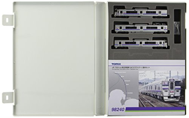 TOMIX Nゲージ 98240 733 1000系近郊電車 (はこだてライナー)基本セット (3両)
