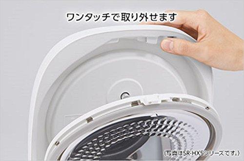 パナソニック 1升 炊飯器 IH式 スノーホワイト SR-HX186-W