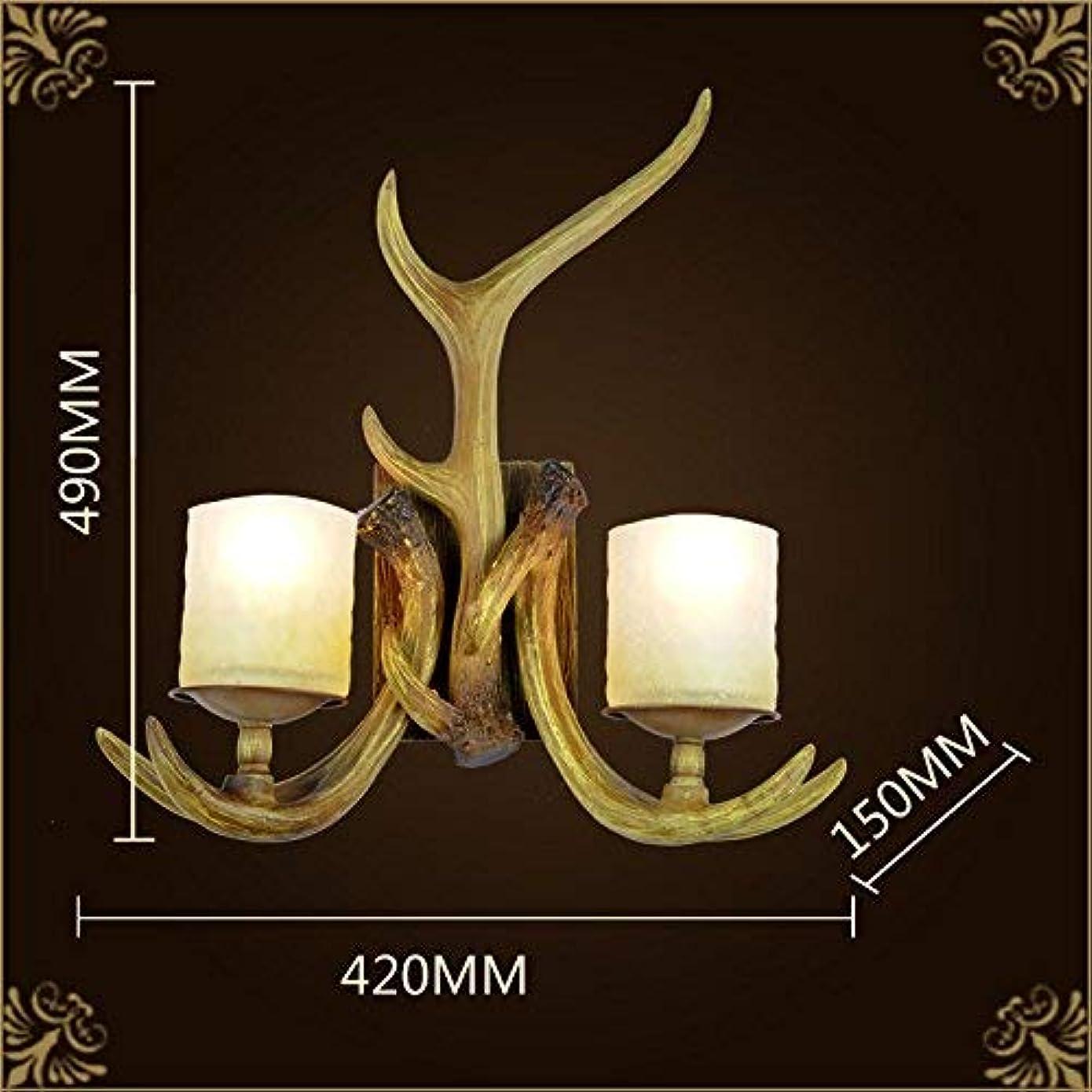 受付部族はげ壁面ライト, 居間のための樹脂の壁の燭台木製のタイプ燭台の壁ランプのレストランの廊下のための照明設備、タイプB AI LI WEI (Color : Type a)