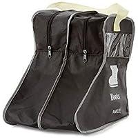BLLendina ブーツ収納袋 靴カバー ロングブーツ/ショートブーツ/レインブーツ/スノーシューズ 全て対応 マルチ収納ポケット 立体 収納ケース 透明 窓付き ポケット付き ほこり 汚れ防止 シューズカバー袋