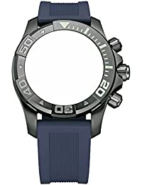 [ビクトリノックス] Victorinox 腕時計 Swiss Army Dive Master 500 Navy Blue Genuine Rubber Strap Diver Watch Band 22mm 004663 【並行輸入品】