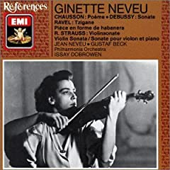 Ginette Neveu ヴァイオリン小品集の商品写真