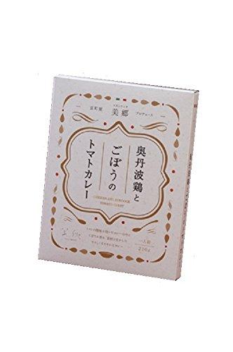 イトー屋 京町屋「美郷」 奥丹波鶏とごぼうのトマトカレー 210g×5個